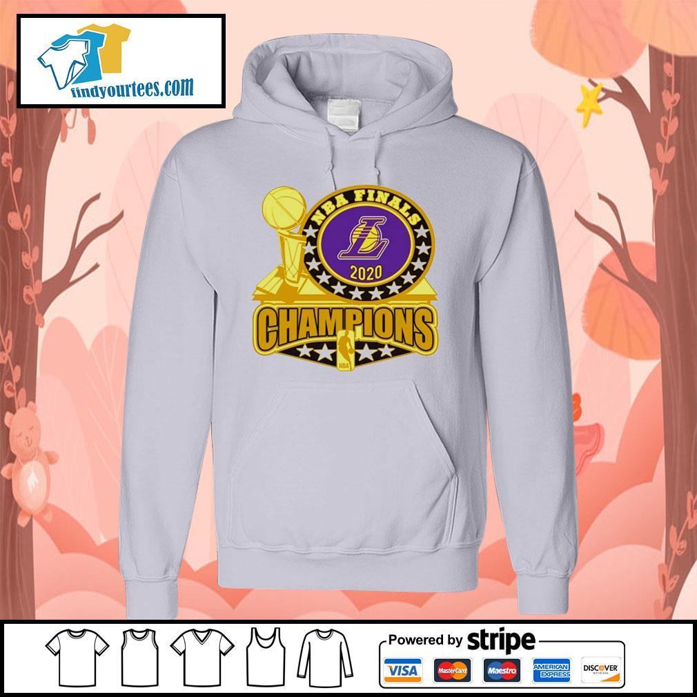 Los Angeles Lakers 2020 NBA Champions Trophy s Hoodie