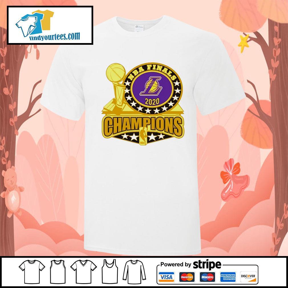 Los Angeles Lakers 2020 NBA Champions Trophy shirt