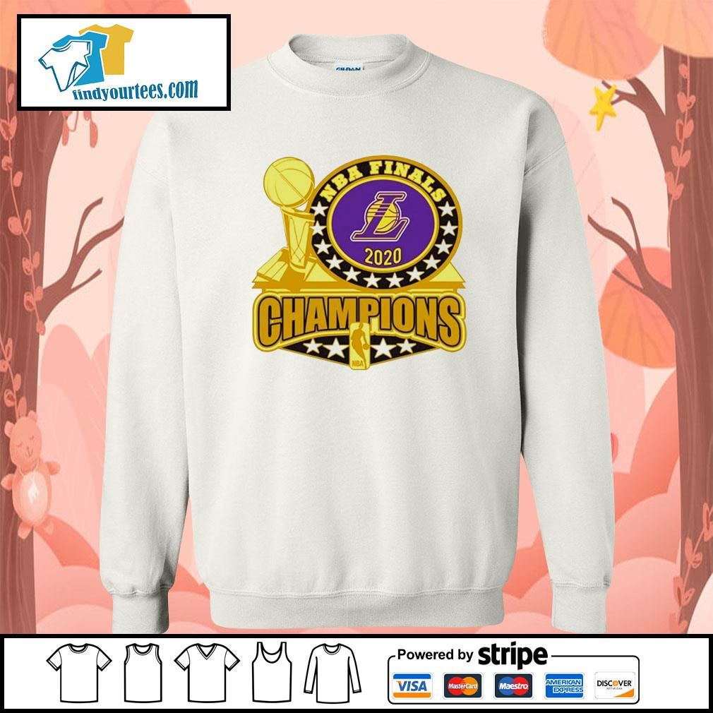Los Angeles Lakers 2020 NBA Champions Trophy s Sweater
