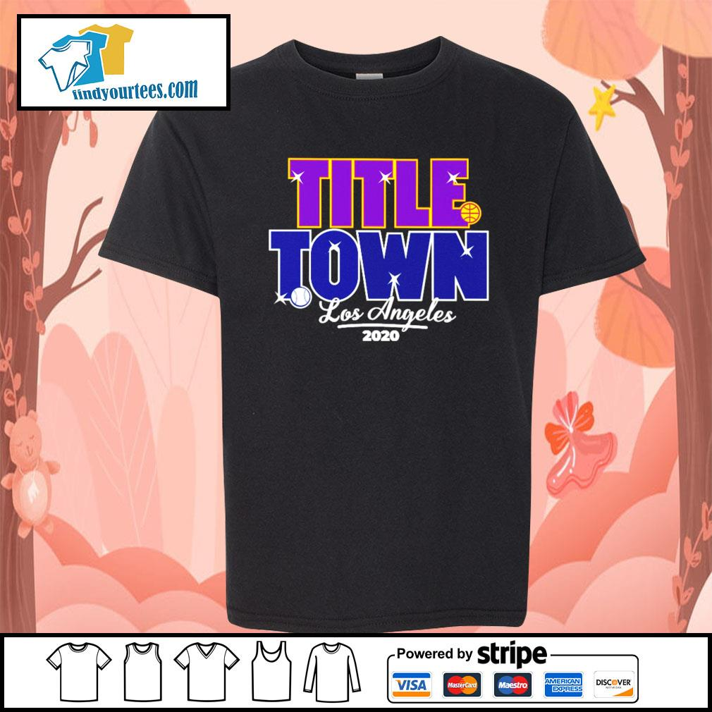 Los Angeles Title Town 2020 s Kid-T-shirt