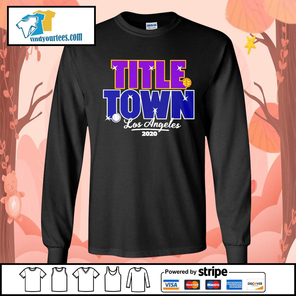 Los Angeles Title Town 2020 s Long-Sleeves-Tee
