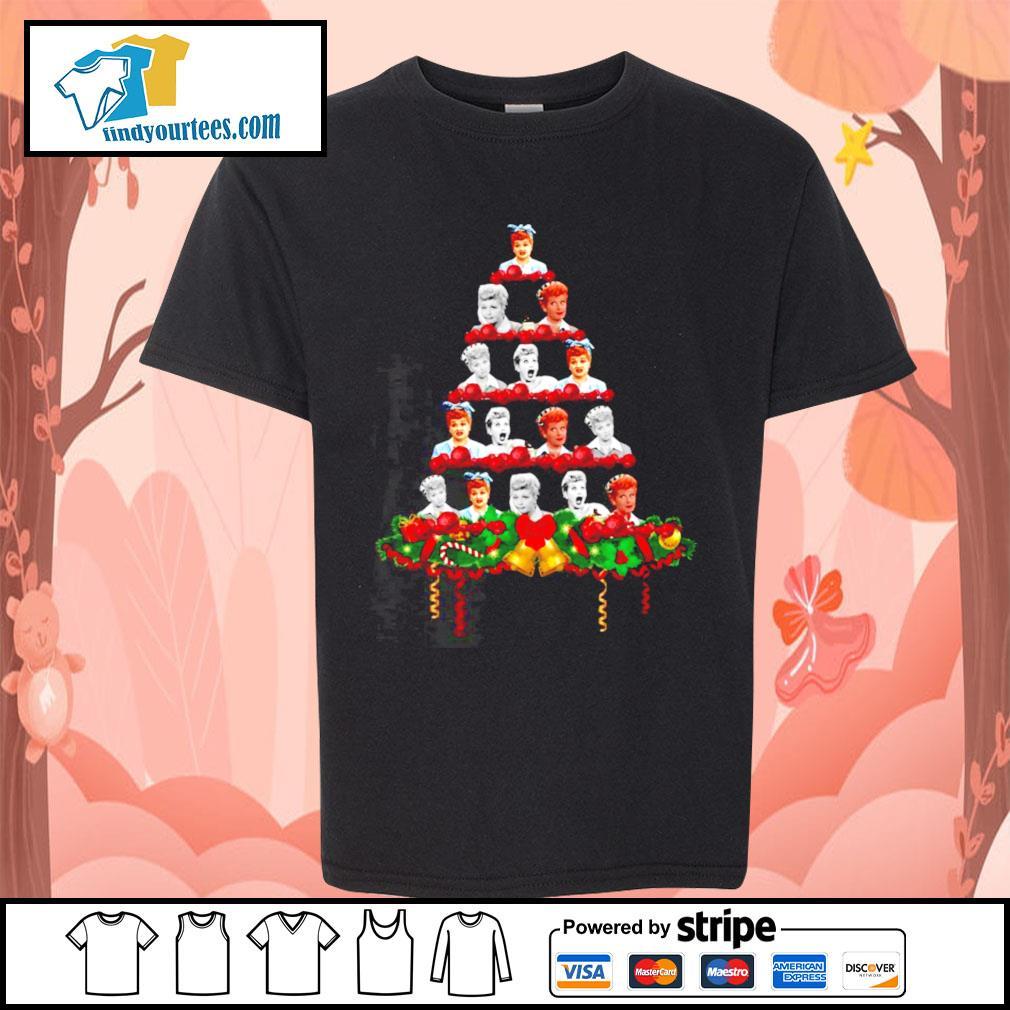 Lucille Ball Christmas tree shirt, sweater Kid-T-shirt