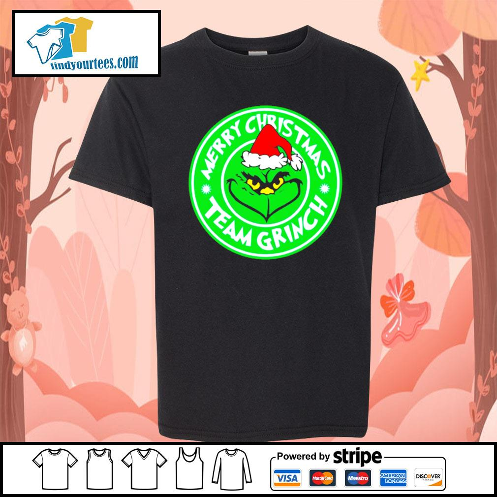 Merry Christmas team Grinch s Kid-T-shirt