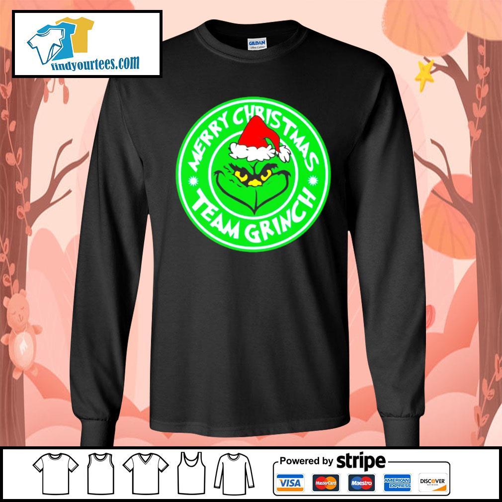 Merry Christmas team Grinch s Long-Sleeves-Tee