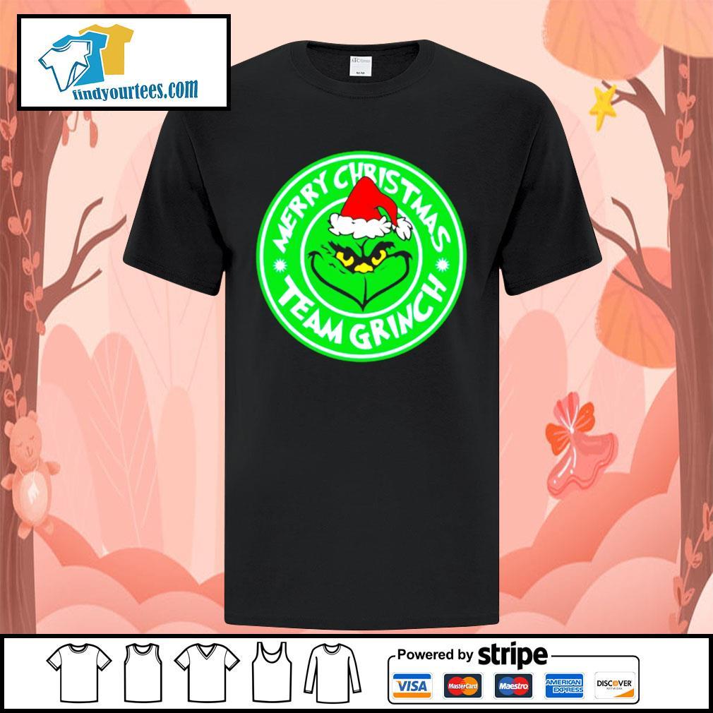Merry Christmas team Grinch shirt