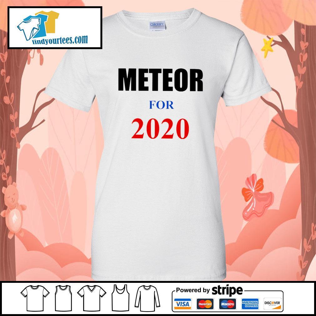 Meteor For 2020 s Ladies-Tee