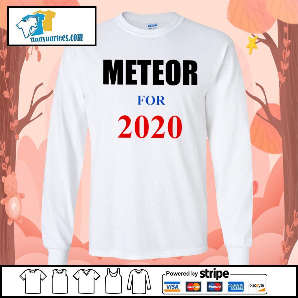 Meteor For 2020 s Long-Sleeves-Tee