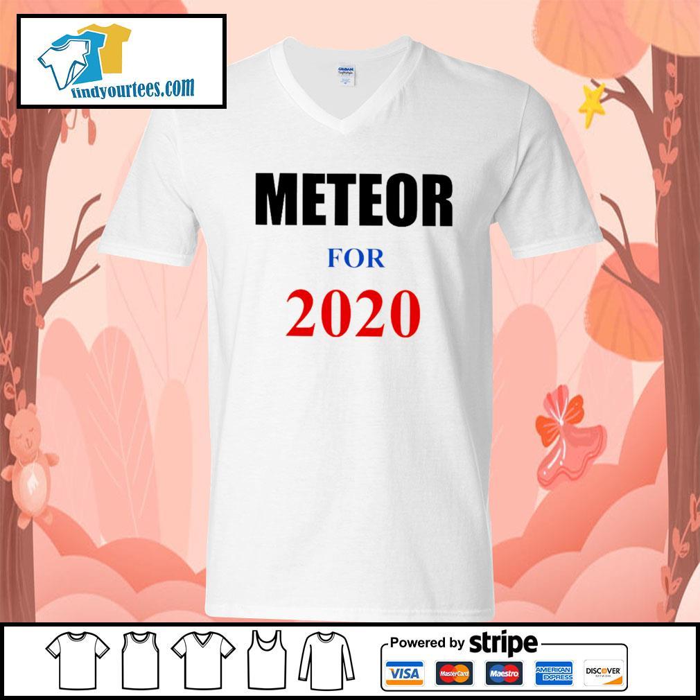 Meteor For 2020 s V-neck-T-shirt