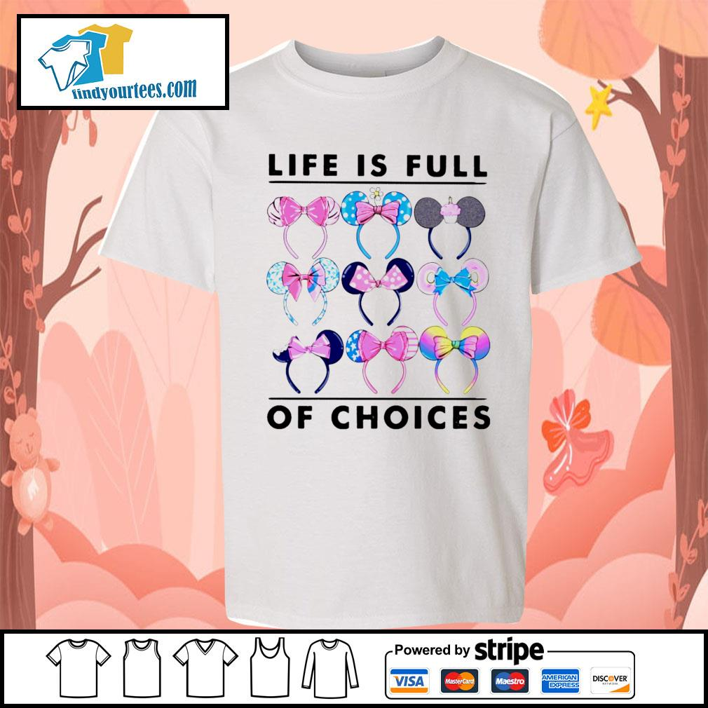 Mickey Mouse life is full of choices s Kid-T-shirt