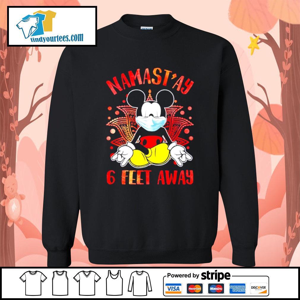 Mickey Mouse Namast'ay 6 feet away s Sweater