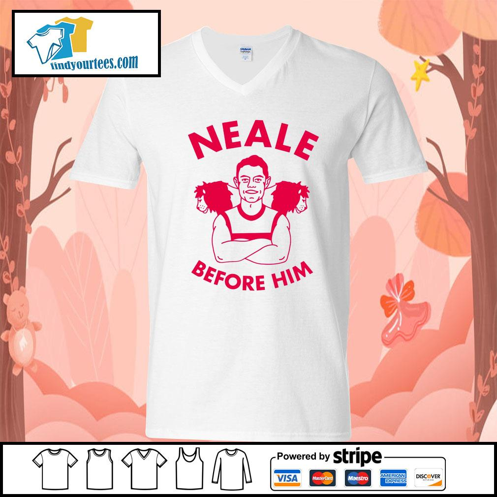 Neale before him s V-neck-T-shirt