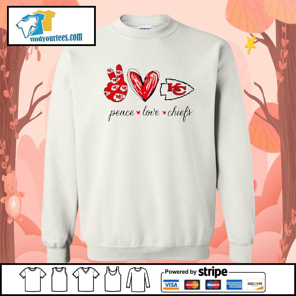 Peace Love Kansas City Chiefs s Sweater