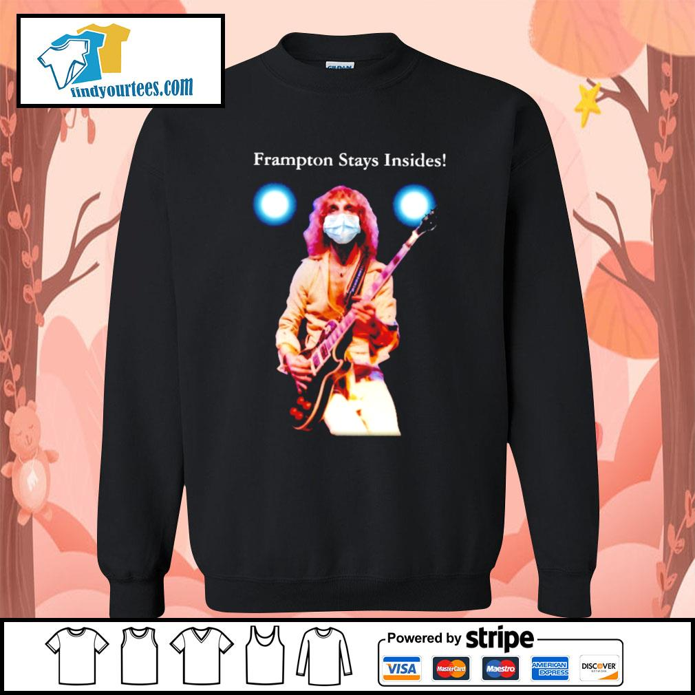 Peter Frampton stays insides Covid s Sweater