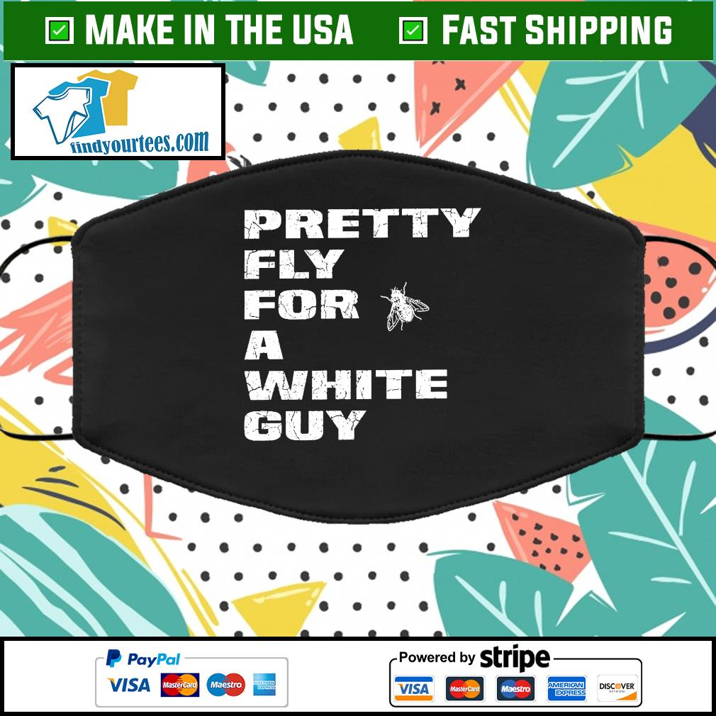 Pretty Fly For A White Guy Vintage Cloth Face Mask