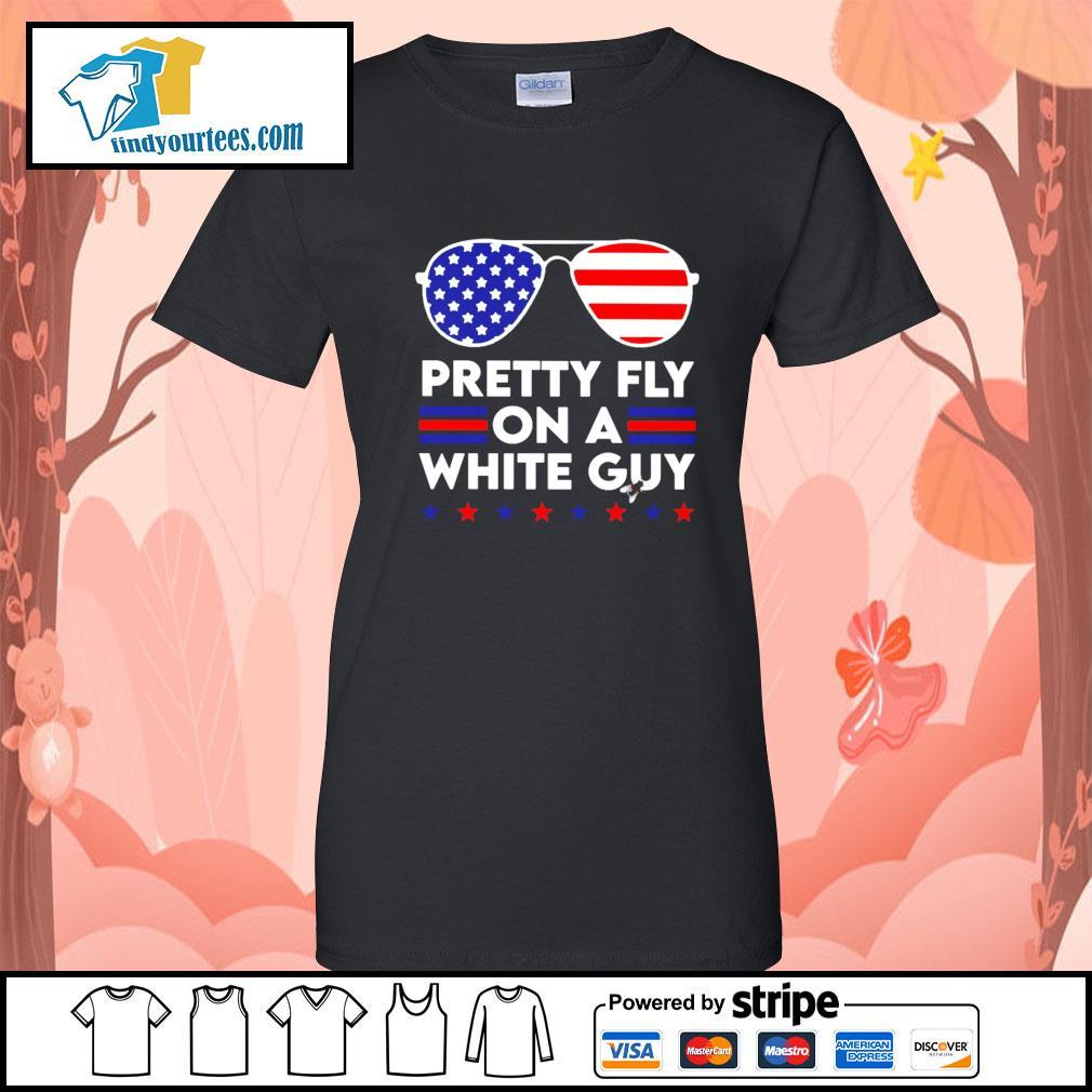 Pretty Fly on a white guy Hair Joe Biden American s Ladies-Tee