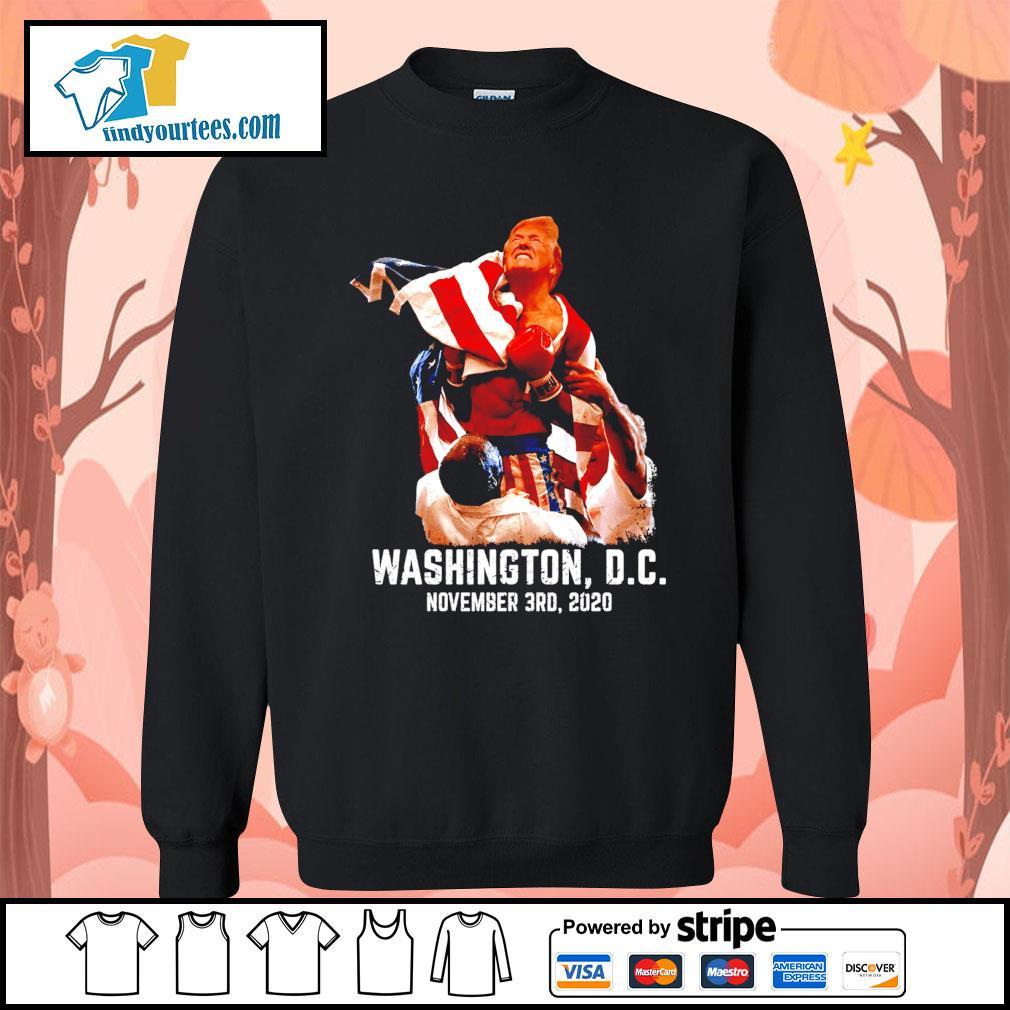 Rocky Donald Trump Washington DC november 3rd 2020 s Sweater