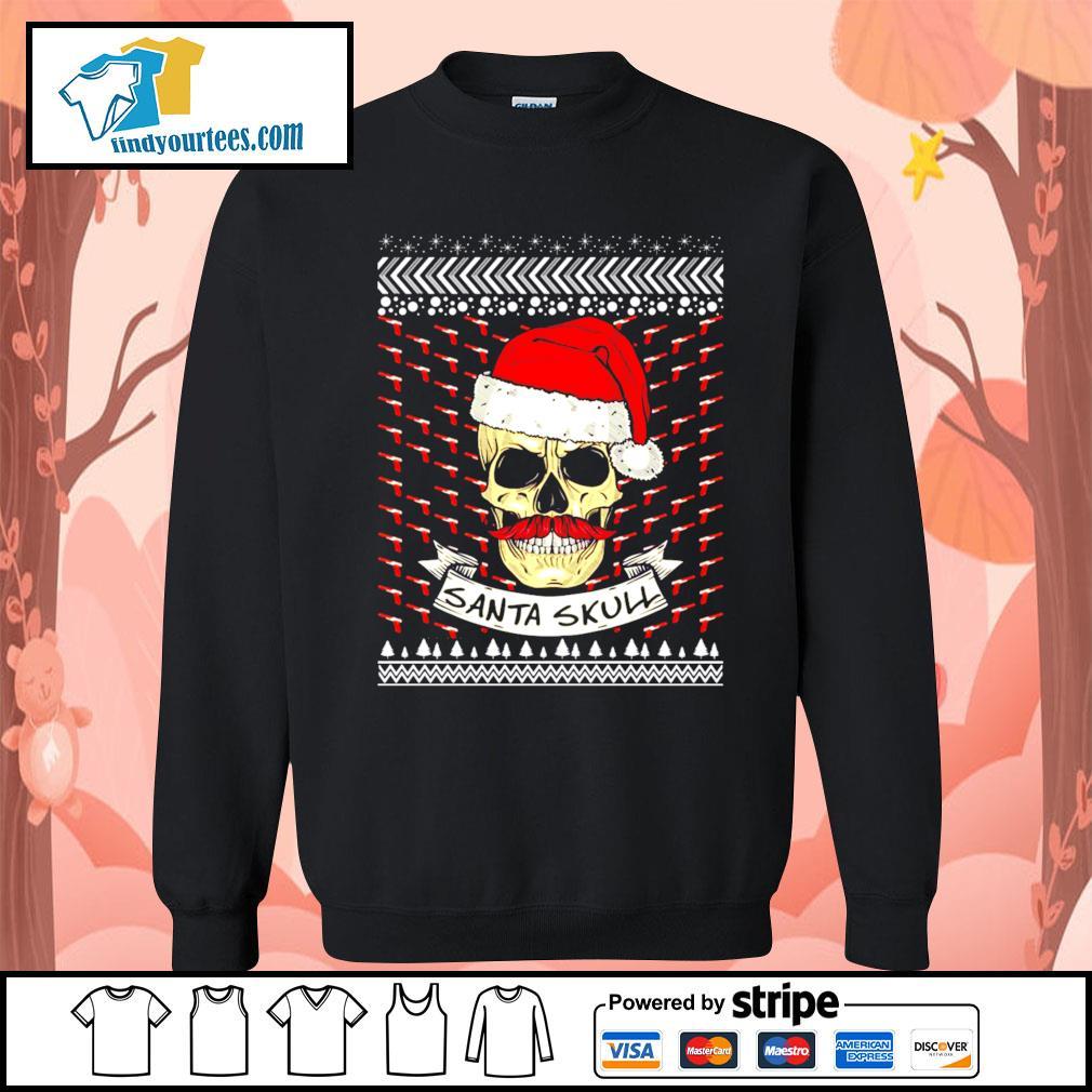 Santa Skull ugly Christmas sweater Sweater
