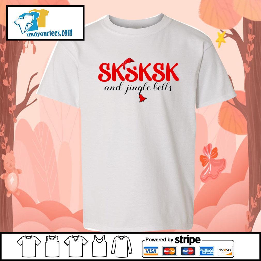 Sksksk and jingle bells Christmas shirt, sweater Kid-T-shirt