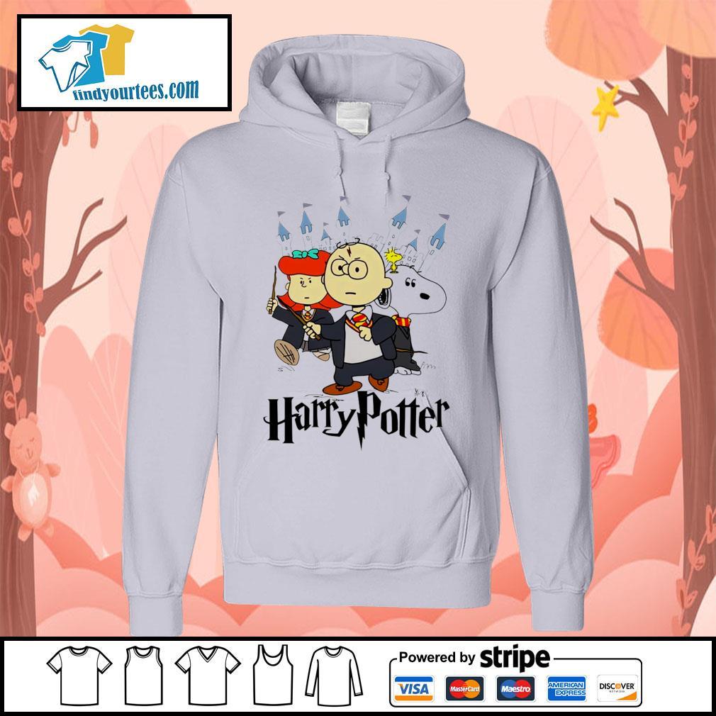 Snoopy Charlie Brown Lucy van Pelt Harry Potter s Hoodie