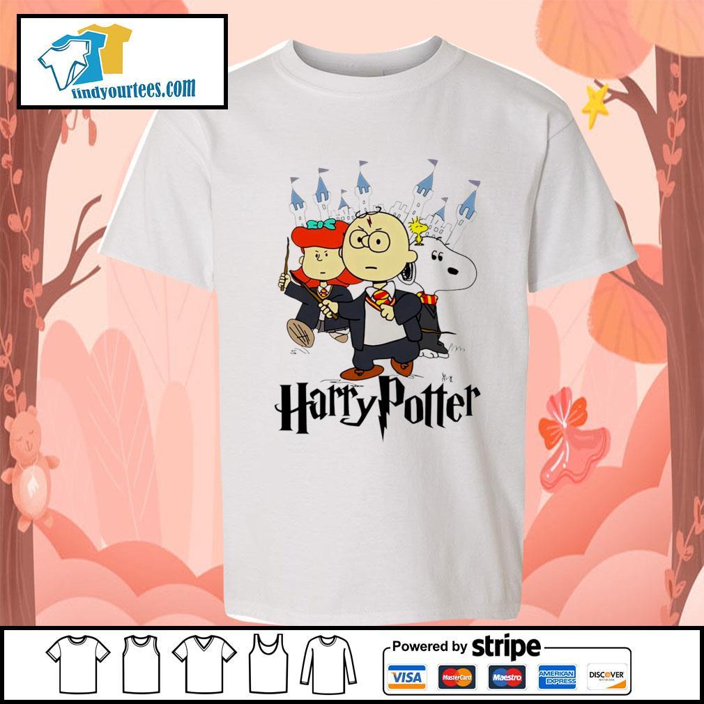 Snoopy Charlie Brown Lucy van Pelt Harry Potter s Kid-T-shirt
