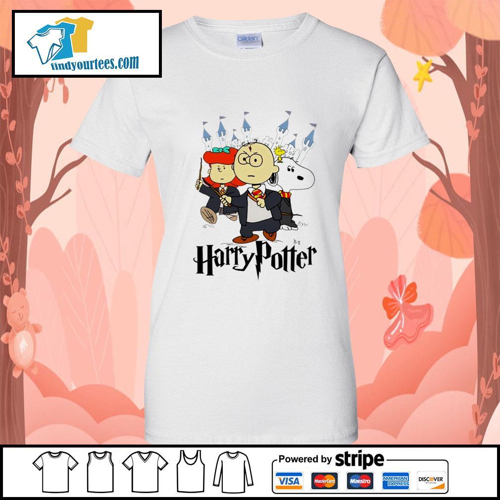 Snoopy Charlie Brown Lucy van Pelt Harry Potter s Ladies-Tee