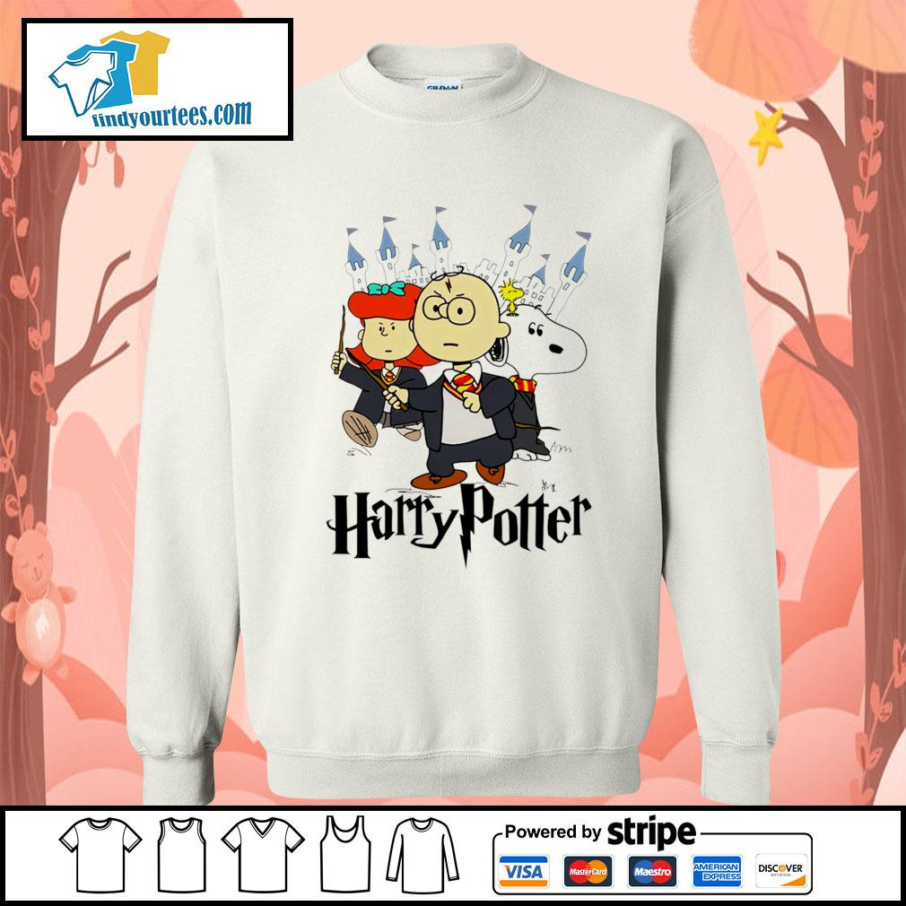 Snoopy Charlie Brown Lucy van Pelt Harry Potter s Sweater