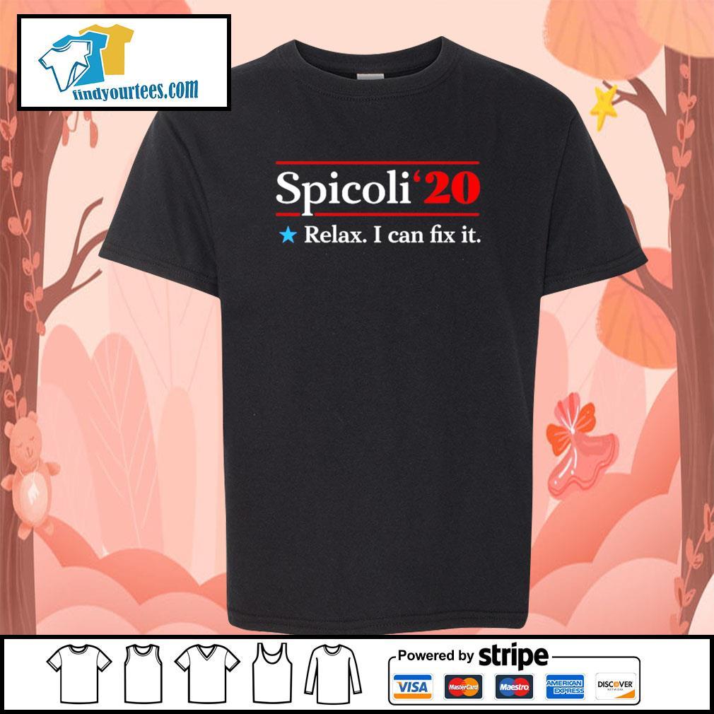 Spicoli 2020 relax I can fix it s Kid-T-shirt