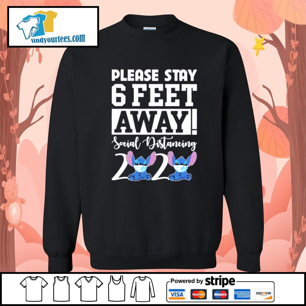 Stitch please stay 6 feet away social distancing 2020 s Sweater