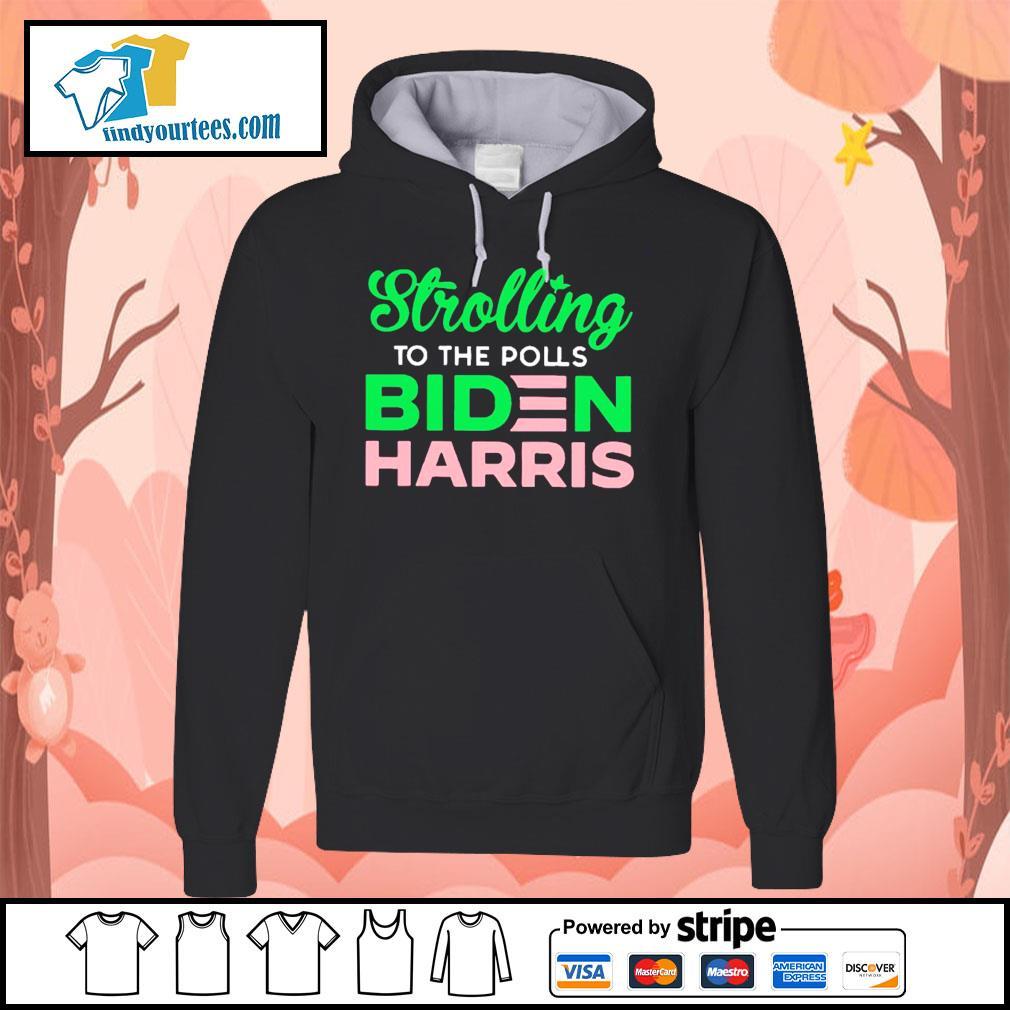 Strolling to the polls Biden Harris s Hoodie