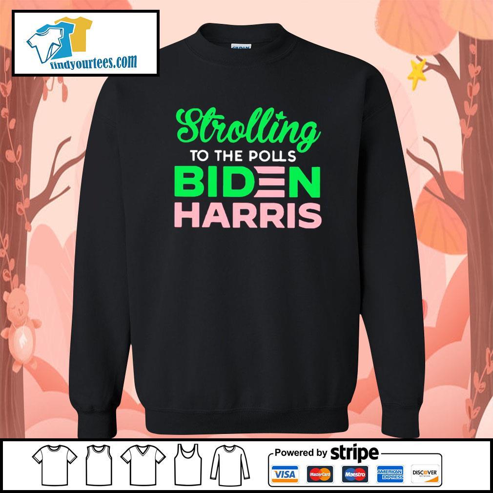 Strolling to the polls Biden Harris s Sweater