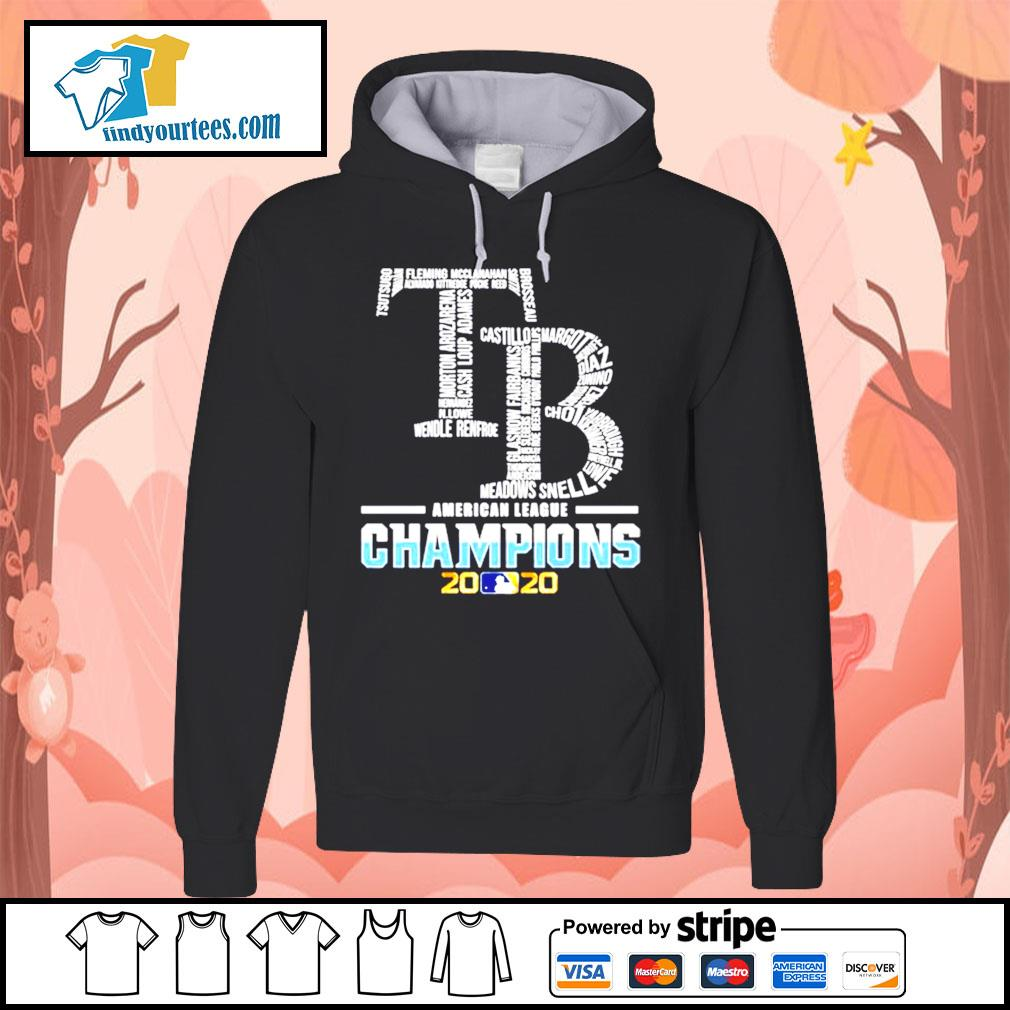 Tampa Bay Rays American League Champions 2020 s Hoodie