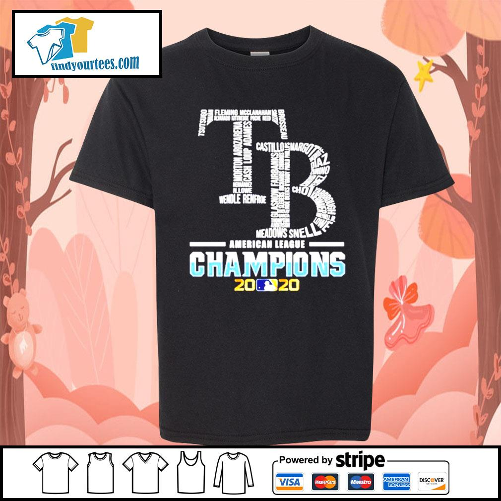 Tampa Bay Rays American League Champions 2020 s Kid-T-shirt