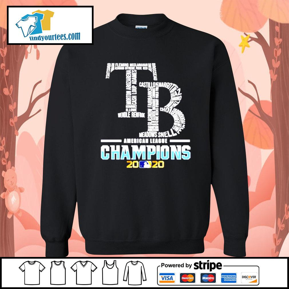 Tampa Bay Rays American League Champions 2020 s Sweater