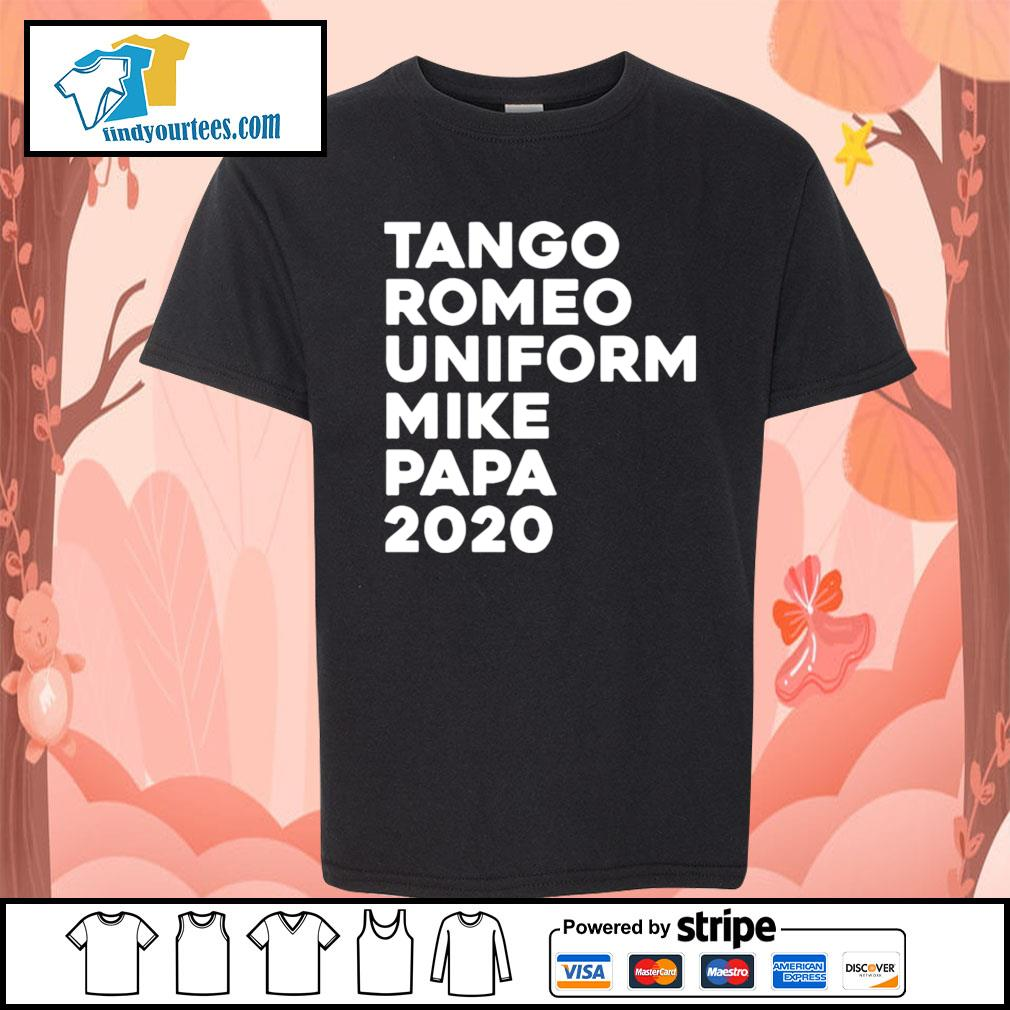 Tango Romeo uniform mike papa 2020 s Kid-T-shirt