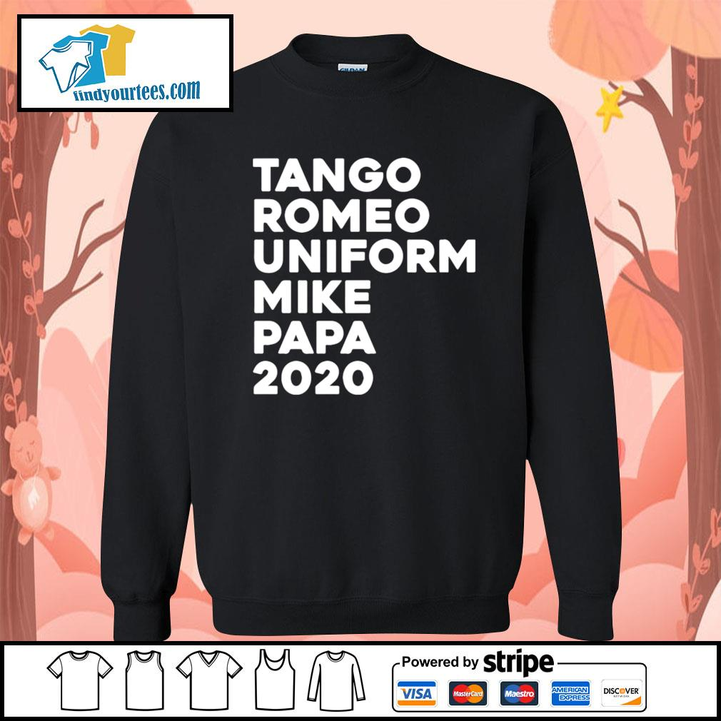 Tango Romeo uniform mike papa 2020 s Sweater