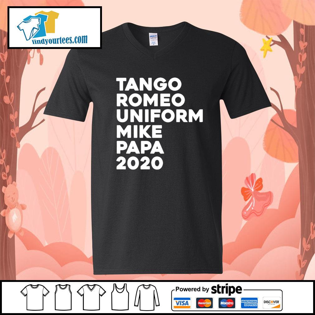 Tango Romeo uniform mike papa 2020 s V-neck-T-shirt