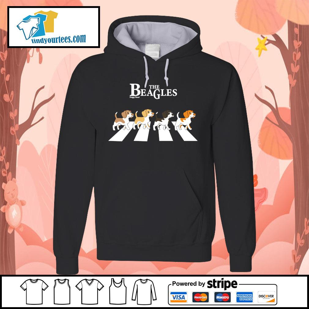 The Beagles parody The Beatles abbey road s Hoodie