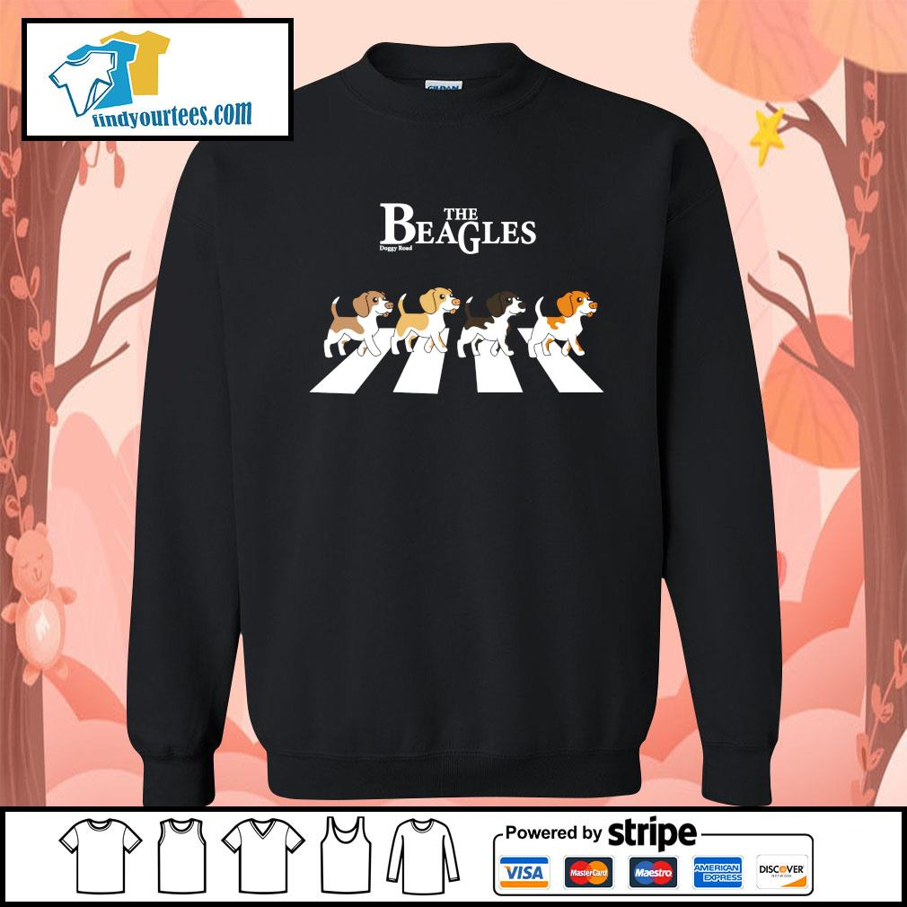 The Beagles parody The Beatles abbey road s Sweater
