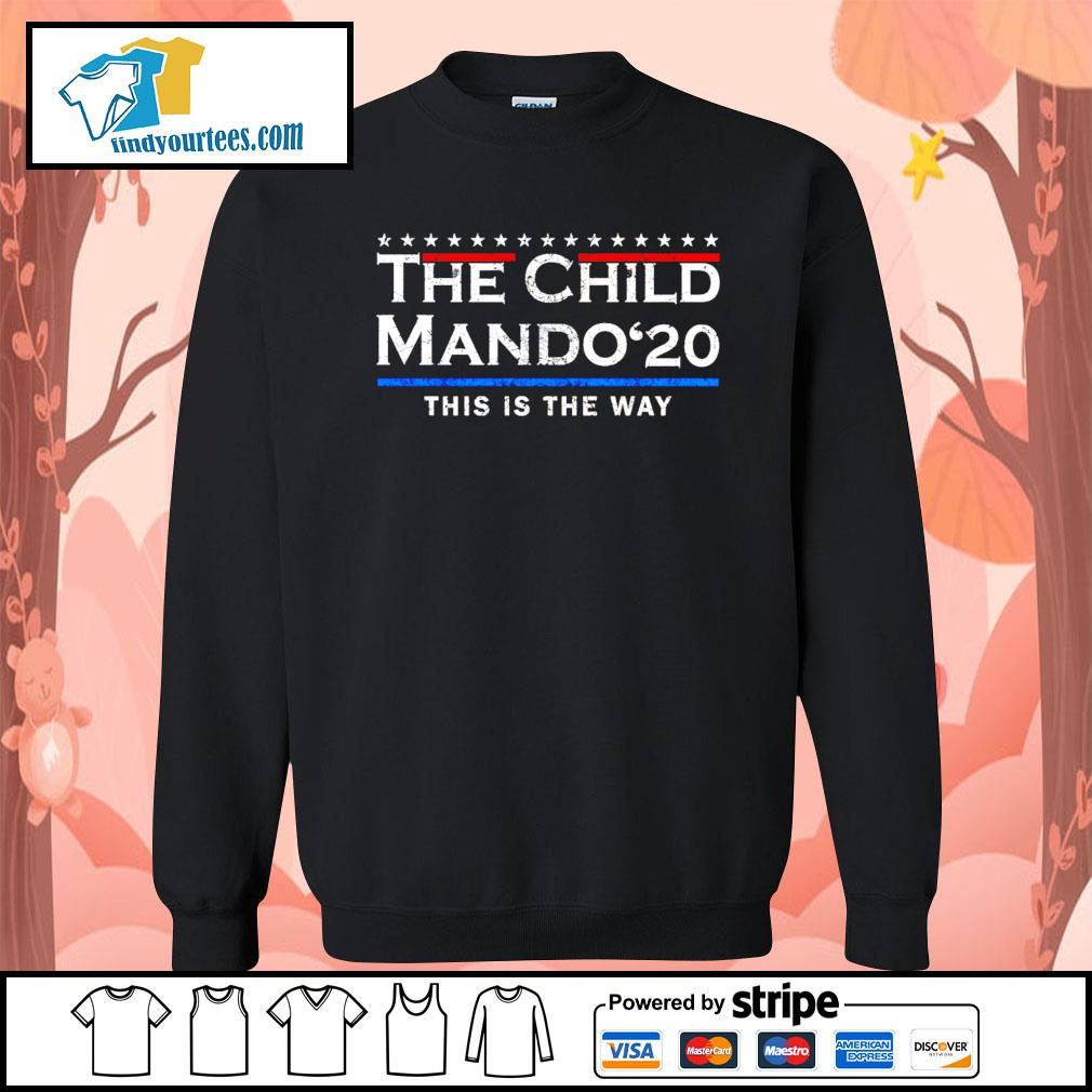 The child Mando 2020 this is the way s Sweater