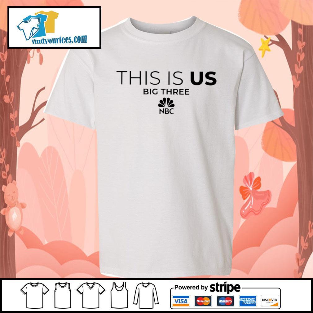 This is us big three NBC s Kid-T-shirt