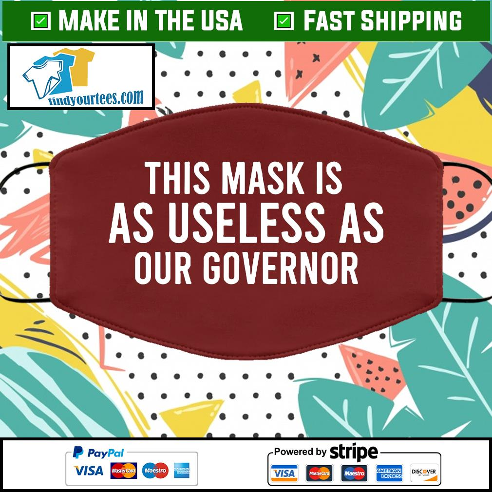This mask is as useless as our governor face mask brown