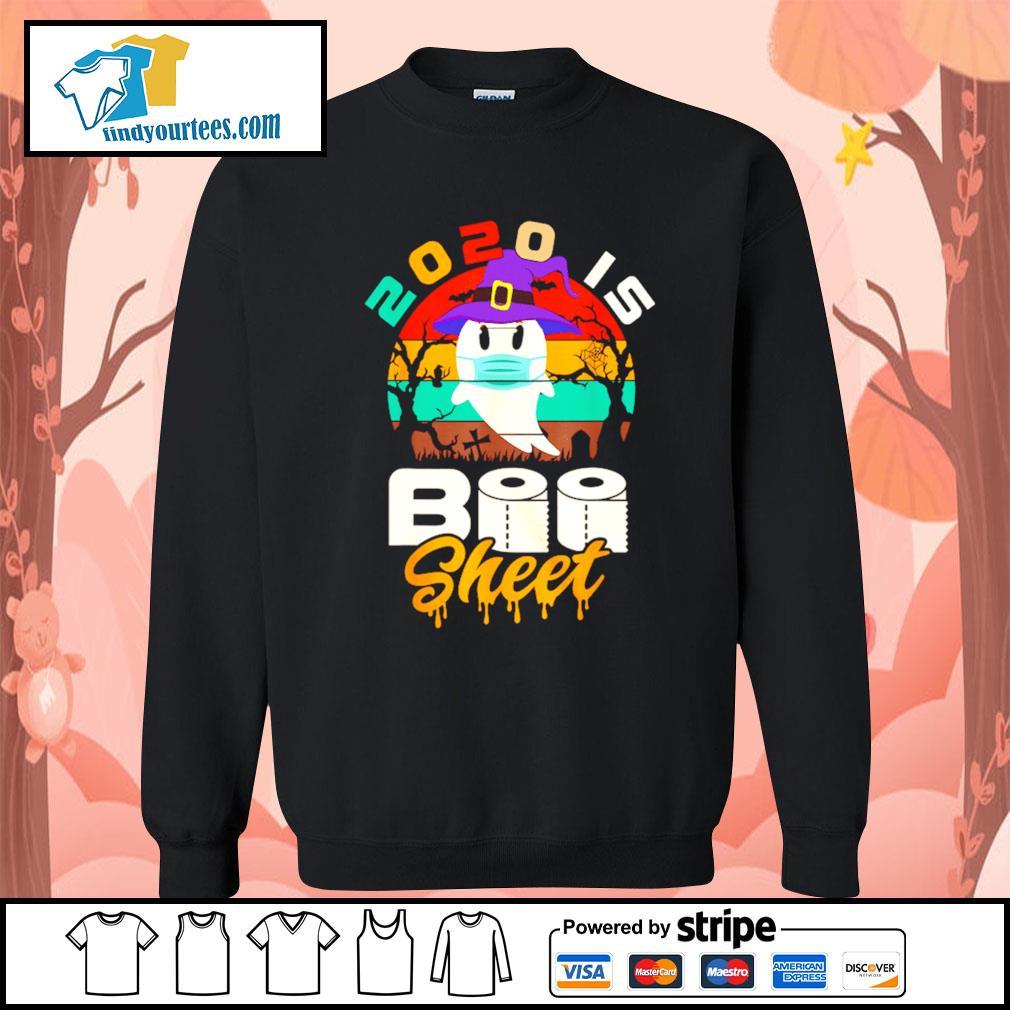 Toilet Paper 2020 is boo sheet Halloween vintage s Sweater