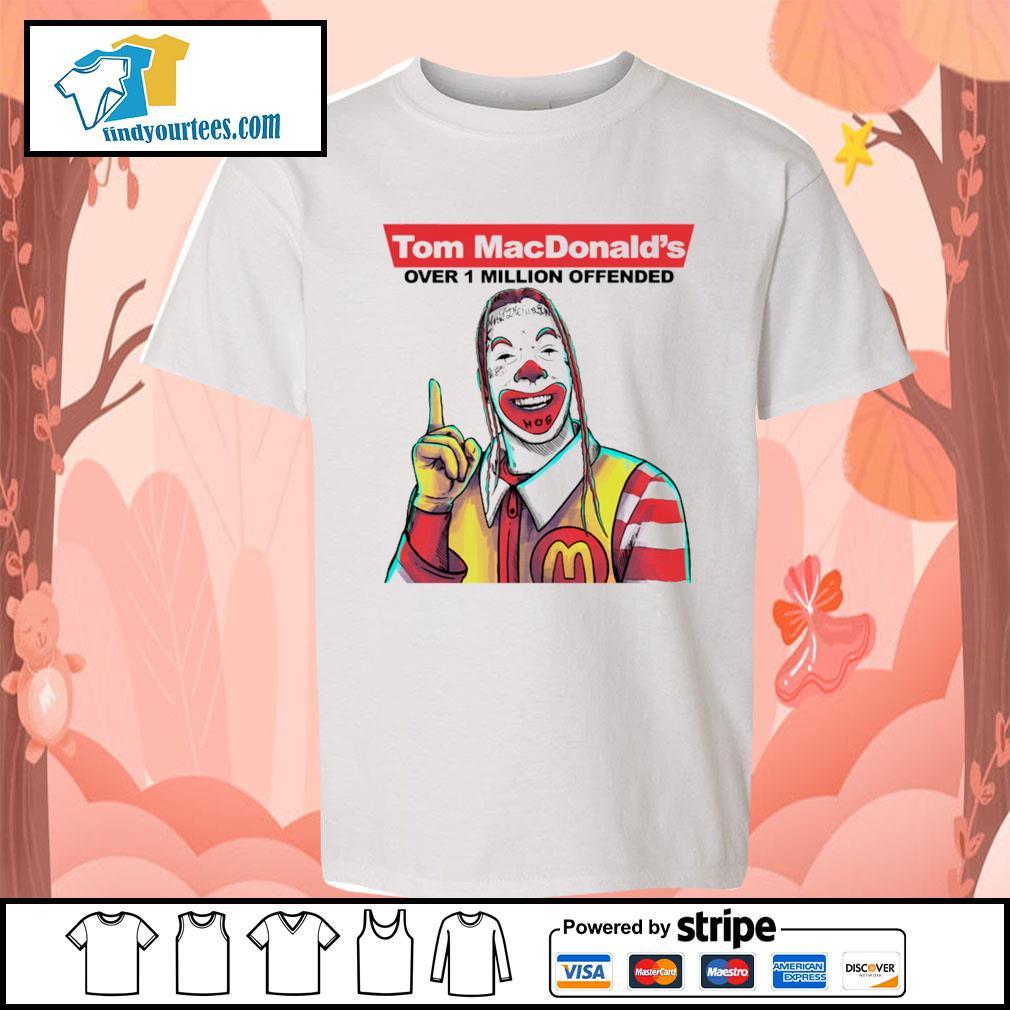 Tom Macdonald over 1 million offender s Kid-T-shirt