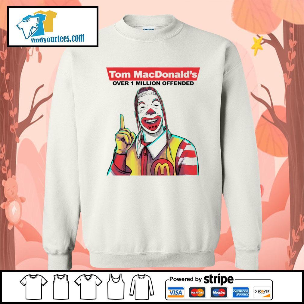 Tom Macdonald over 1 million offender s Sweater