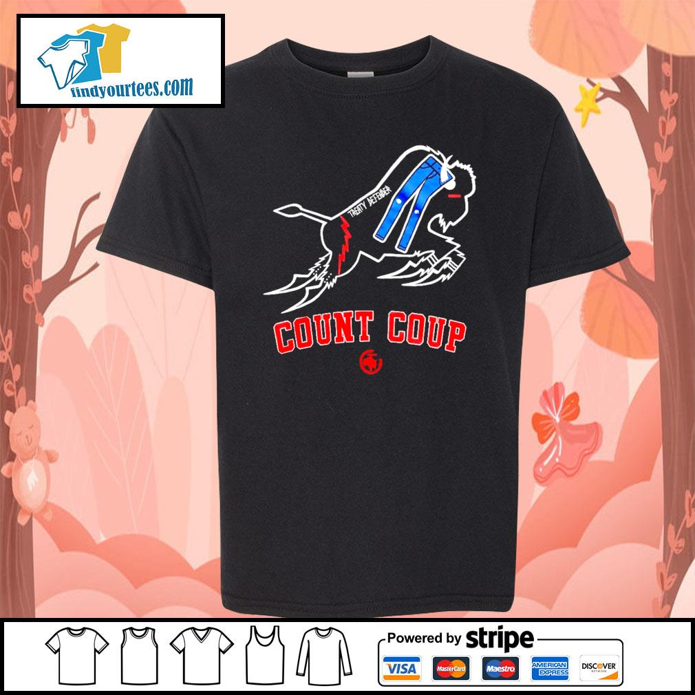 Treaty Defender Count Coup s Kid-T-shirt