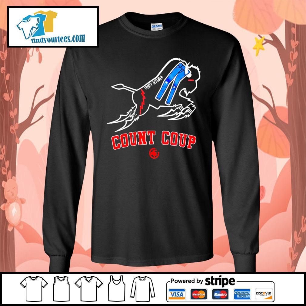 Treaty Defender Count Coup s Long-Sleeves-Tee