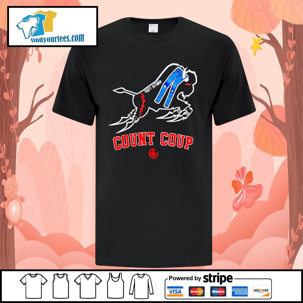 Treaty Defender Count Coup shirt
