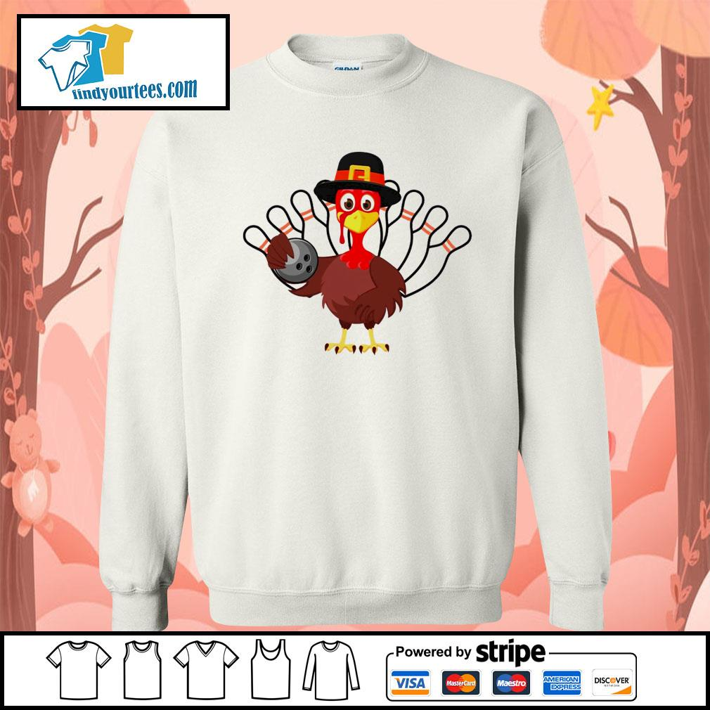 Turkey bowling Thanksgiving s Sweater