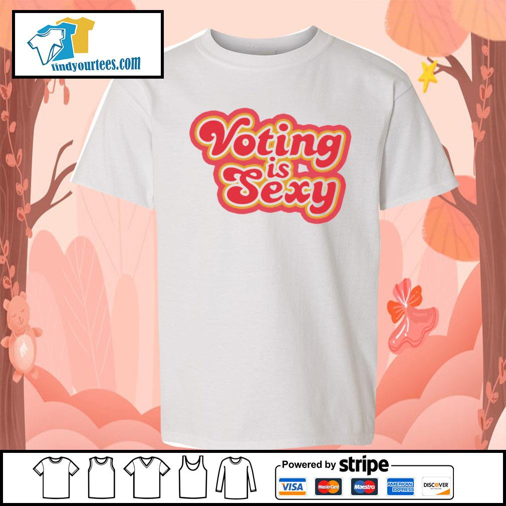 Voting Is Sexy s Kid-T-shirt