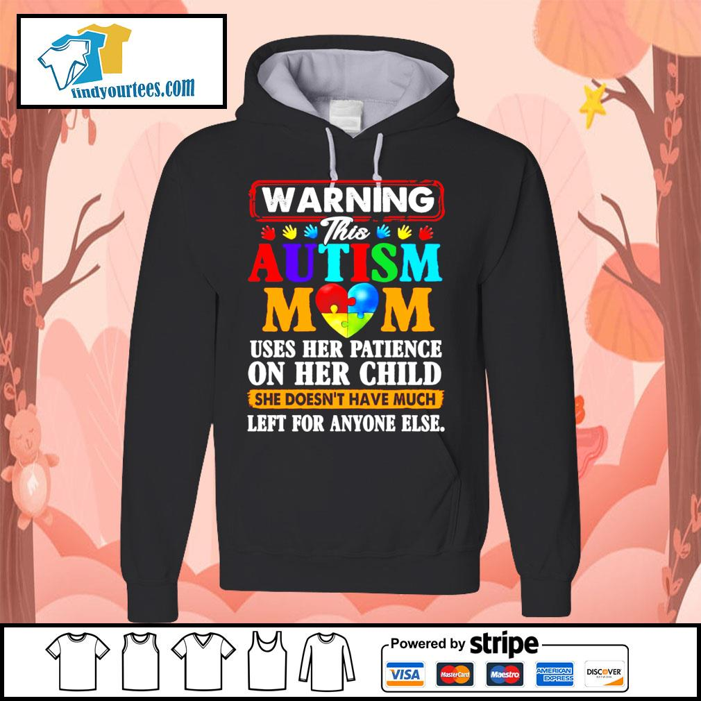 Warning this Autism mom uses her patience on her child she doesn't have s Hoodie
